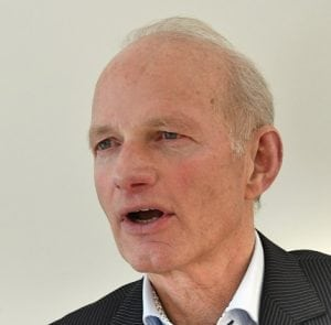 Jan van Amstel, voorzitter MS Vereniging Nederland