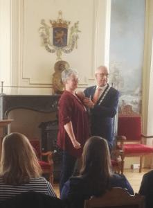 Koninklijke onderscheiding Ellen Reijnen