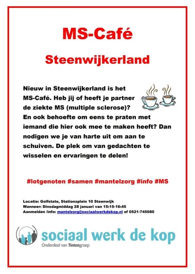 MS-cafe steenwijkerland