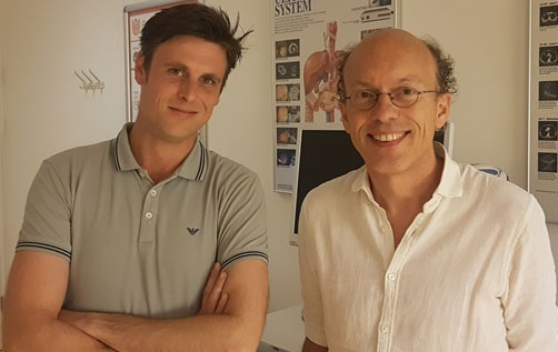 Rogier Ooijevaar (l) en Bob van Oosten