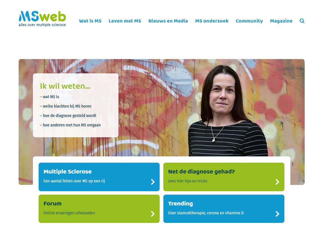 MSweb.nl vernieuwd